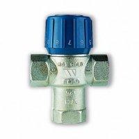 Термостатический смесительный клапан 1'' BВВ  AQUAMIX (25-50*C) Kvs 2.1
