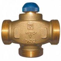 """Клапан термостат 3х-ходовой 1 1/4"""" н.р. Kvs 6,27 CALIS-TS-RD"""