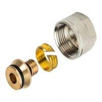 Соединение для металлопластиковых труб c евроконусом (зажим) STOUT