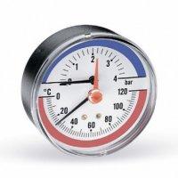 Термоманометр аксиальный