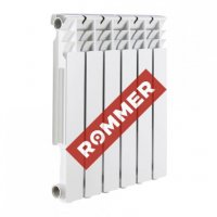 Радиатор алюминиевый Rommer Profi 500