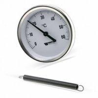 Термометр биметал  накладной