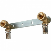 Настенный комплект для смесителя  для металлопластиковых труб прессовой