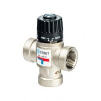 Термостатический смесительный клапан для систем отопления и ГВС  ВР